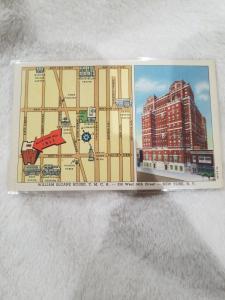 Antique Postcard, William Sloane House, Y.M.C.A
