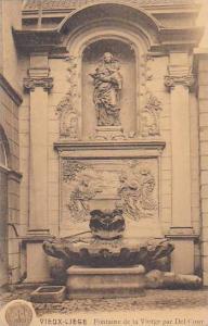 Belgium Liege Fontaine de la Vierge par Del Coup