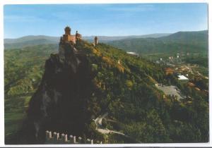 San Marino Panorama View of Towers 4X6
