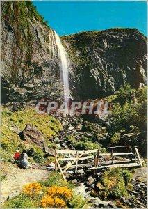 Postcard Modern Tourism Auvergne Mont Dore (alt 1050m) Great Cascade