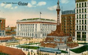 OH - Cleveland. Public Square