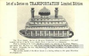River Quen Ferry Boats, Ship, Ships, Postcard Post Cards  River Quen