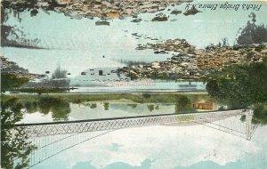 NY, Elmira, New York, Fitch's Bridge, Hugh C. Leighton No. 2203