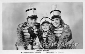 Child Actress Shirley Temple Unused corners are square, card does not lay fla...