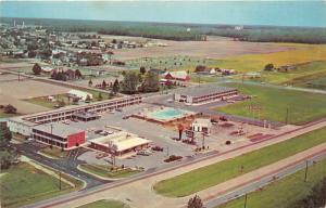 Salisbury Maryland~State Line Motel~US 13~Town~Texaco Gas Station~Cemetery?~'60s