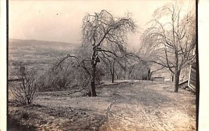 Winter Scene in Otisville, New York