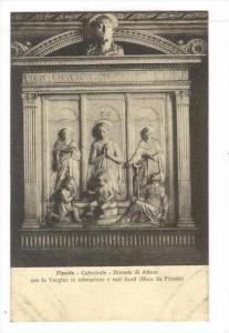 Cattedrale, Dossale Di Altare Con La Vergine In Adorazione E Vari Santi (Mino...