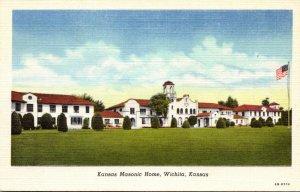 Kansas Wichita Kansas Masonic Home Curteich