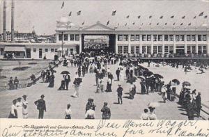 New Jersey Asbury Park Boardwalk and Casino 1906