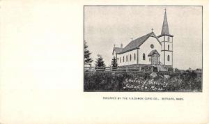 Scituate Massachusetts Church Of Nativity Private Mail Antique Postcard K107500