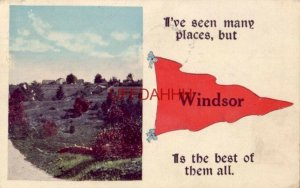 1920 No 681-32 Des. Landscape Pennants WINDSOR IS THE BEST OF THEM ALL