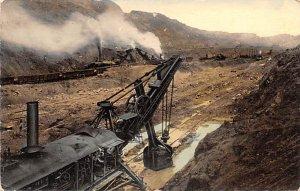 Steam Shovels at Work Culebra Cut Panama Unused