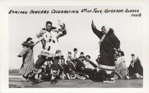 RP: KOTZEBUE , Alaska , 1930-40s ; Eskimo Dancers , July 4th