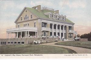 PHILADELPHIA, Pennsylvania, 1900-1910's; Children's Play House, Fairmount Park