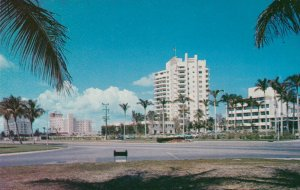 MIAMI BEACH , Florida , 50-60s ; Bal Harbour