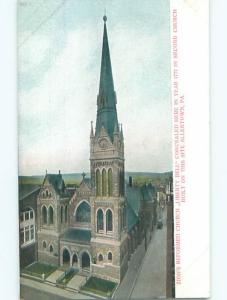 Pre-1907 LIBERTY BELL HIDING LOCATION IN CHURCH Allentown Pennsylvania PA n5695