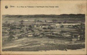 China - Oost Mongolia Vrouw Pijnboomen Vicarlaat Rehe Jehol c1915 Postcard