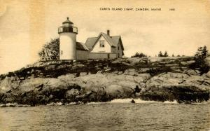 ME - Camden. Curtis Island Light