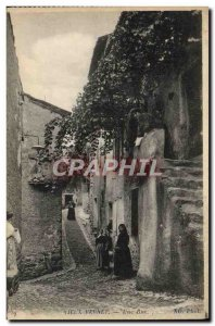 Old Postcard Old Women Rue Vernet A