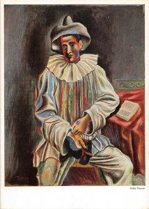 B110474 Pablo Picasso Sitzender Pierrot Seated Pierrot