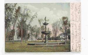 Newhall Fountain, Fairfield, Maine PU-1908