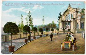 Alaska-Yukon-Pacific-Expo, 1909, Expo Grounds