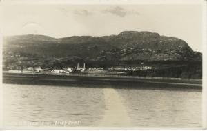 Powell River BC British Columbia From Grief Point Vintage Real Photo Postcard D8