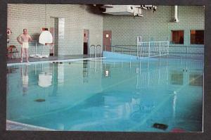 ME Therapy Pool VA Hospital Veterans Admin Center Togus Maine Postcard PC