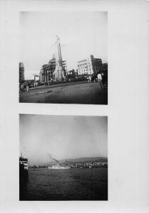Venezuela River Ship Boat Panorama Cross Panorama Postcard