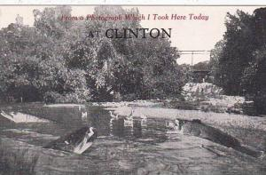 New York Clinton Froma Photograph Which I Took Here Today At Clinton