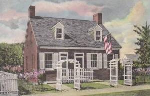 Michigan Dearborn Barbara Fritchie House Albertype