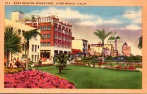 California Long Beach East Seaside Boulevard 1949