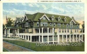 Lakewood Inn Chautauqua Lake NY Unused