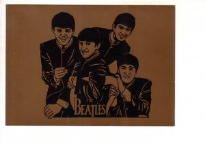The Beatles Gold Background, Merseyside County Council