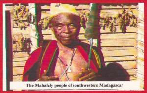 Native Mahafaly People Of Southwestern Madagascar