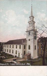 Rhode Island Newport Trinity Church Built 1726