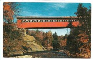 E. Arlington, VT - Chiselville Covered Bridge - 1964