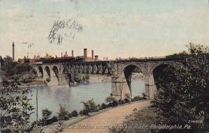 Pennsylvania Philadelphia West River Drive And P R R Bridge Over Schuylkill R...