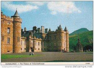 Scotland Edinburgh The Palace Of Holyroodhouse