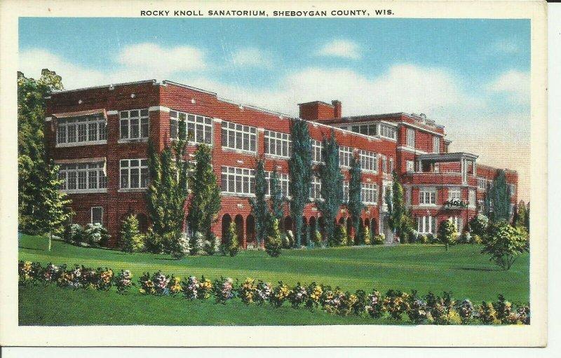 Sheboygan, Wis., Rocky Knoll Sanatorium, Wisconsin