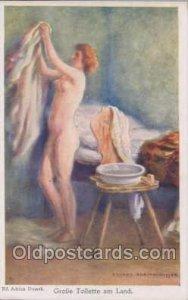 Artist Eduard Adrian - Dussek Nude Unused