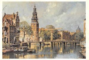 Netherlands Johannes Christiaan Karel Klinkenberg De Montelbaanstoren Amsterdam