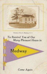 RP: MEDWAY , New York , 1900-10s ; Christian Church