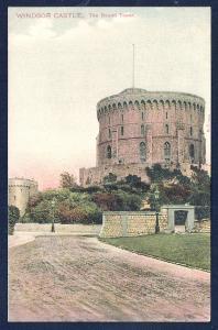 Windsor Castle Round Tower Berkshire England unused c1910's