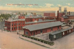SPRINGFIELD , Massachusetts, 1915 ; Knox Automobile Works