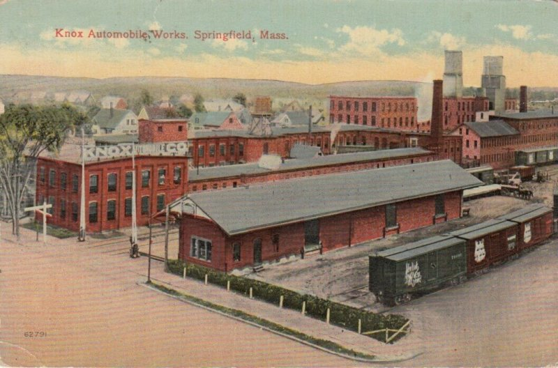 SPRINGFIELD , Massachusetts, 1915 ; Knox Automobile Works