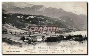 Old Postcard Talloires and the Spinner