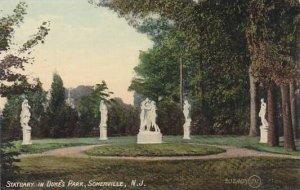 New Jersey Somerville Statuary In Dukes Park