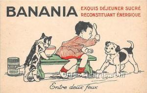 Advertising Postcard - Old Vintage Antique Banania Unused