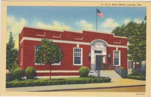 Post Office, Laurel, Delaware, 30-40s